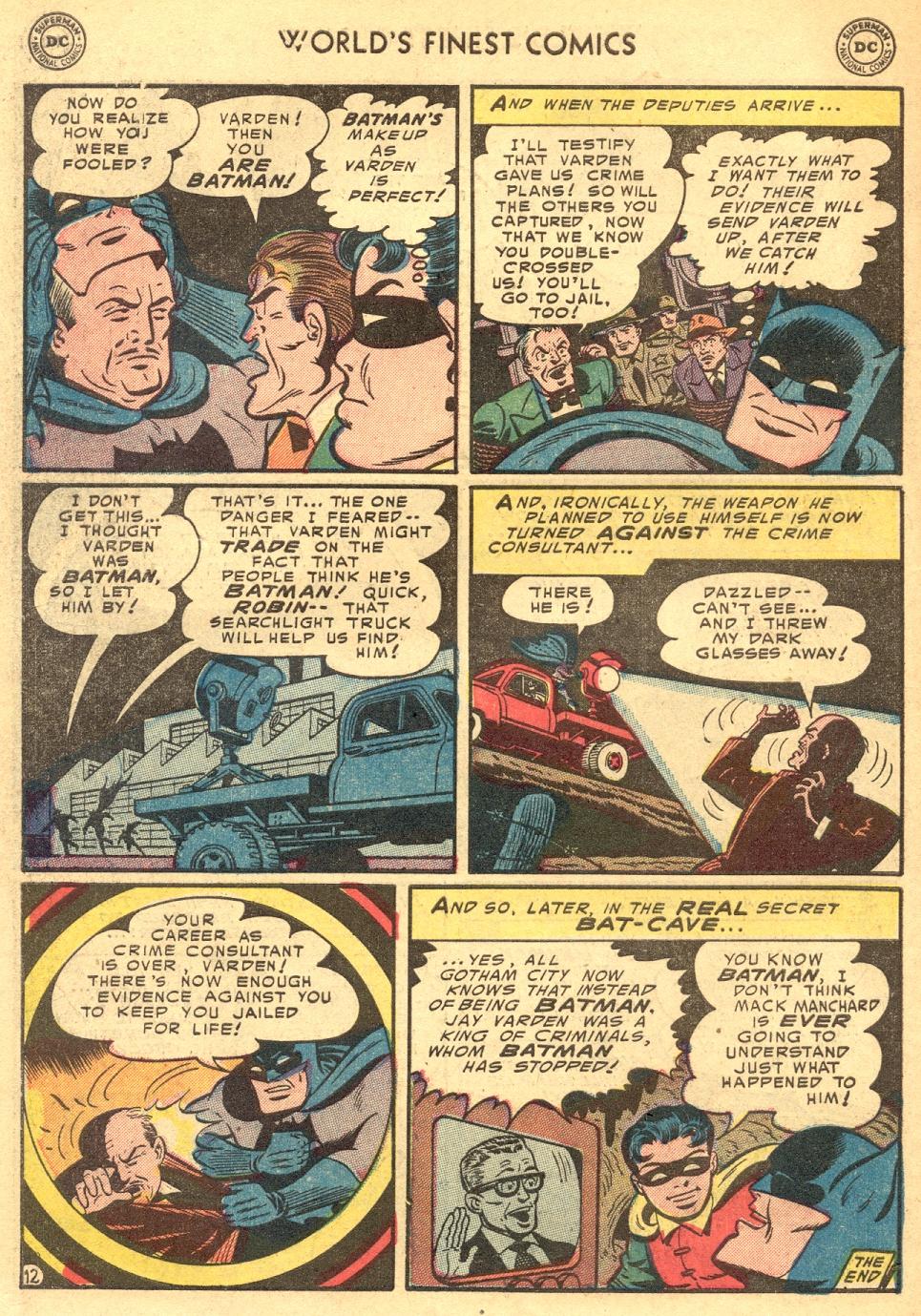 Read online World's Finest Comics comic -  Issue #70 - 66