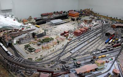 Modelismo. Maqueta trenes del Museo del ferrocarril
