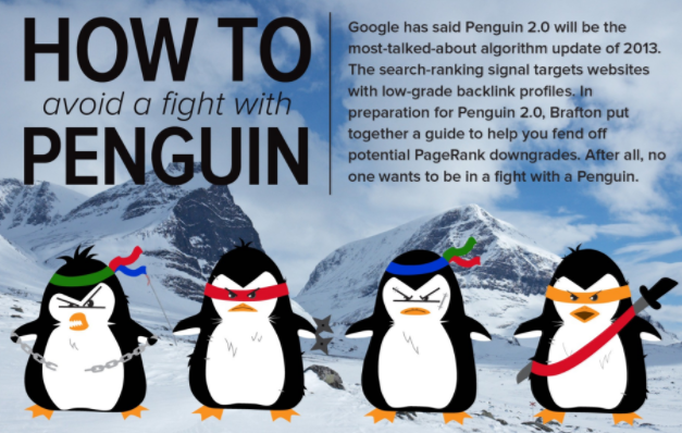 How To Avoid A Fight With Penguin [Infographic]