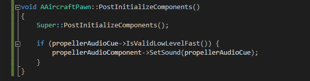 A Piece of the Py: Unreal 4 - Playing Sounds from C++ with