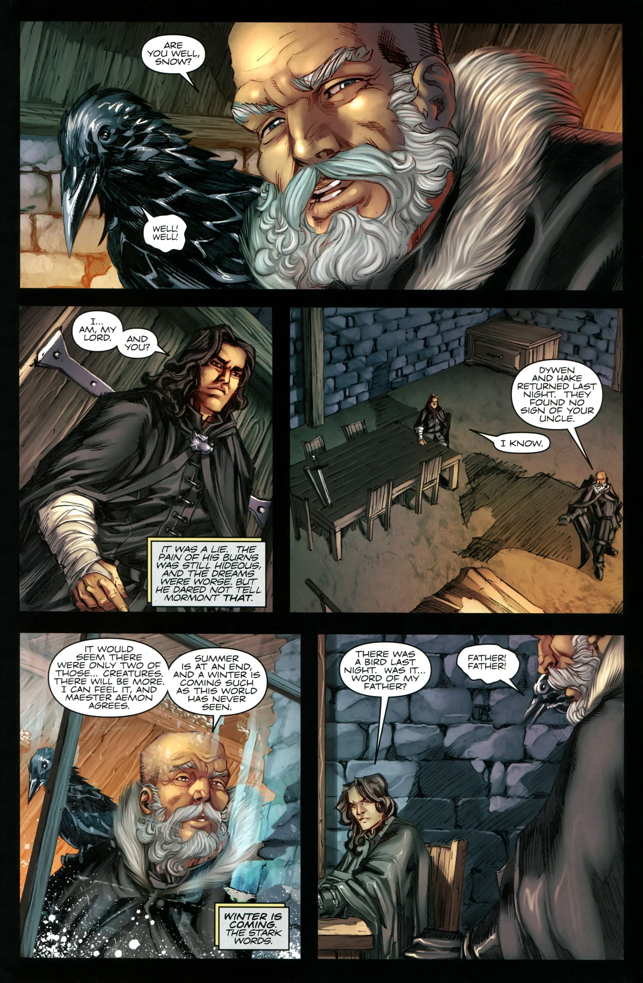 Read online A Game Of Thrones comic -  Issue #20 - 19
