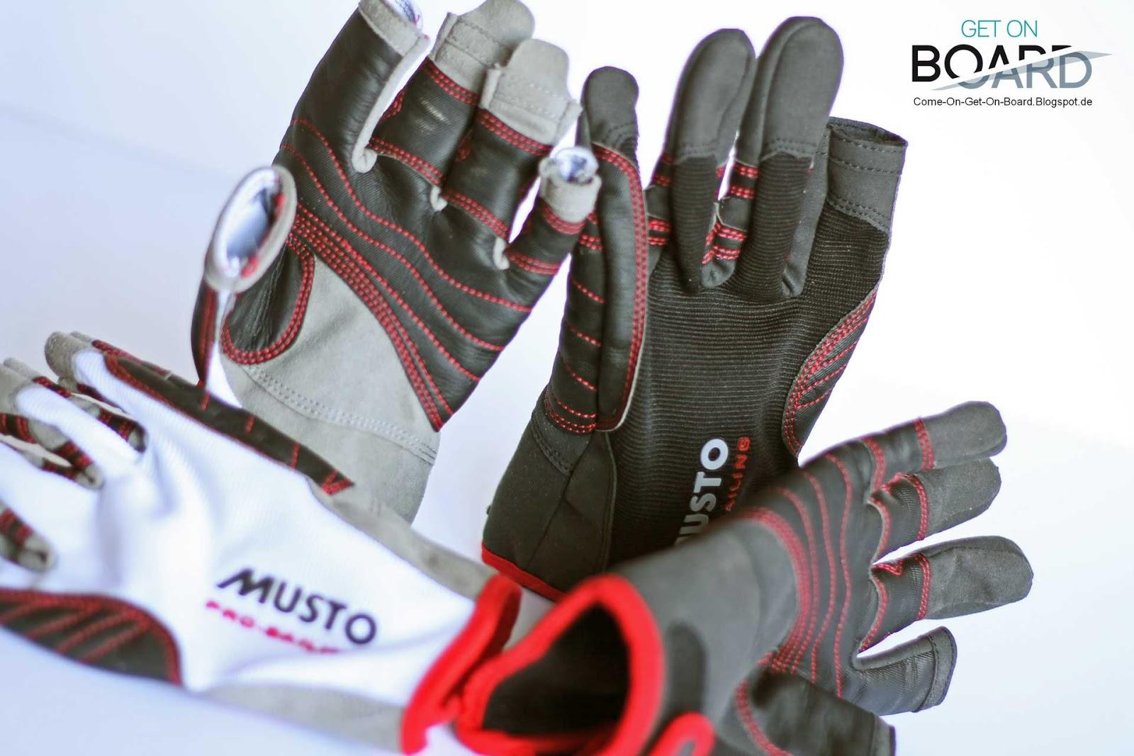 Finger frei Bootsport Musto Segelhandschuhe Performance Gloves Handschuhe