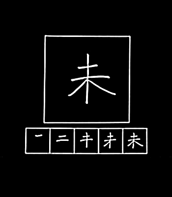 kanji masih