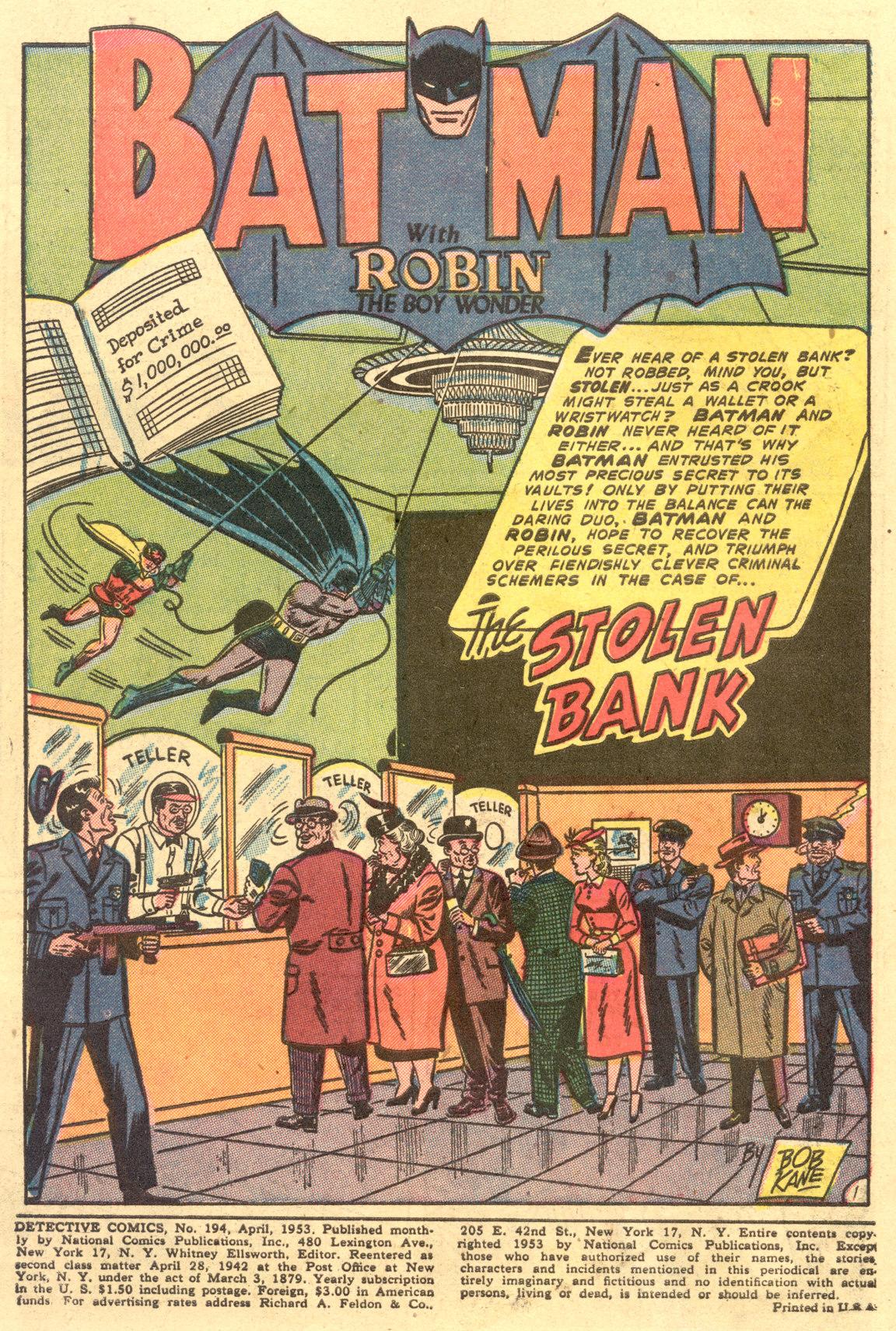 Read online Detective Comics (1937) comic -  Issue #194 - 3