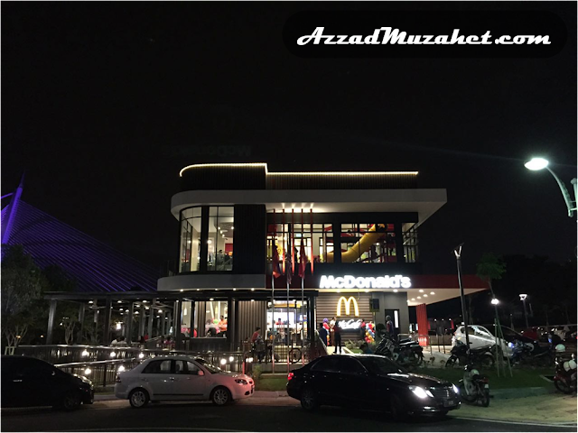 McDonald's Putrajaya Drive-Thru_Night_View