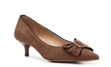 394089ec635 Black Strappy Sandals: Dsw Kitten Heels