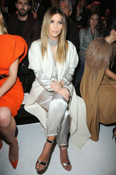 Kim Kardashian in Stephane Rolland show