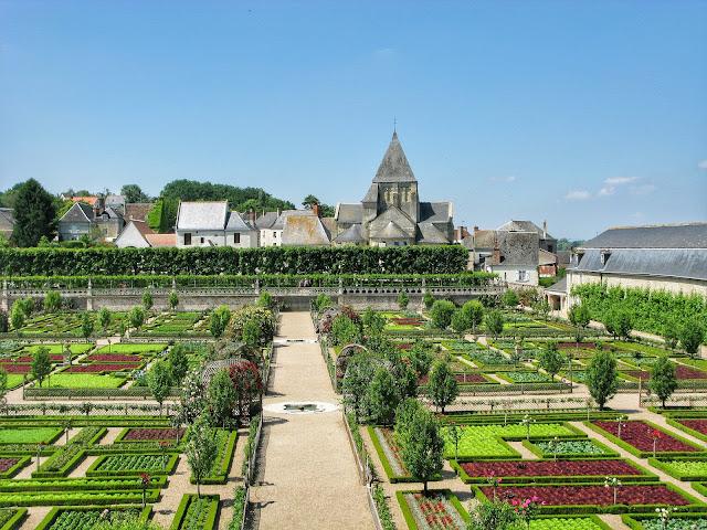 jardin chateau villandry