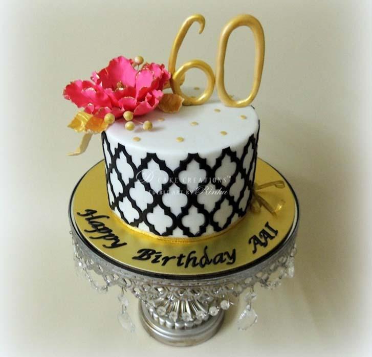 60th Birthday Cake Ideas For A Female Labzada Blouse