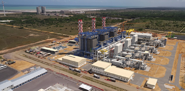 Projeção em 3D da UTE Porto de Sergipe I com as obras concluídas
