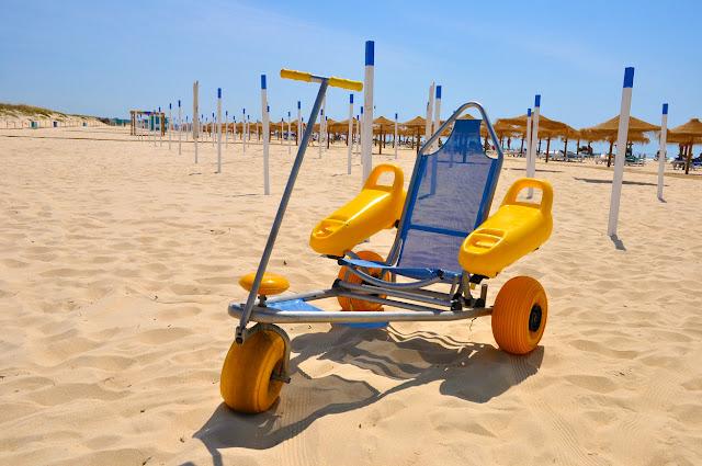 Praias do concelho de Vila Real de Santo António são acessíveis a todos