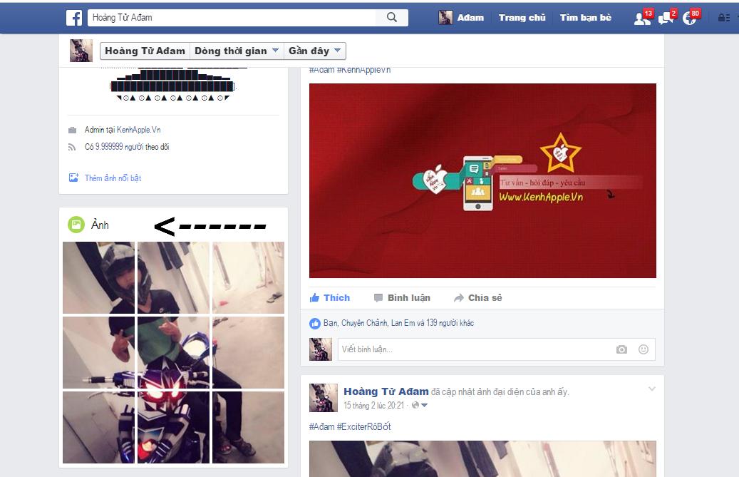 album anh facebook doc