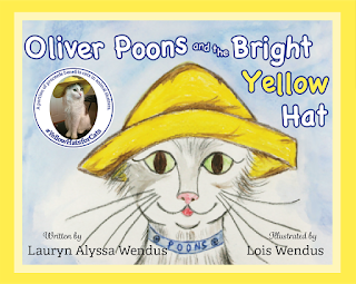 Cover of Oliver Poons and the Bright Yellow Hat