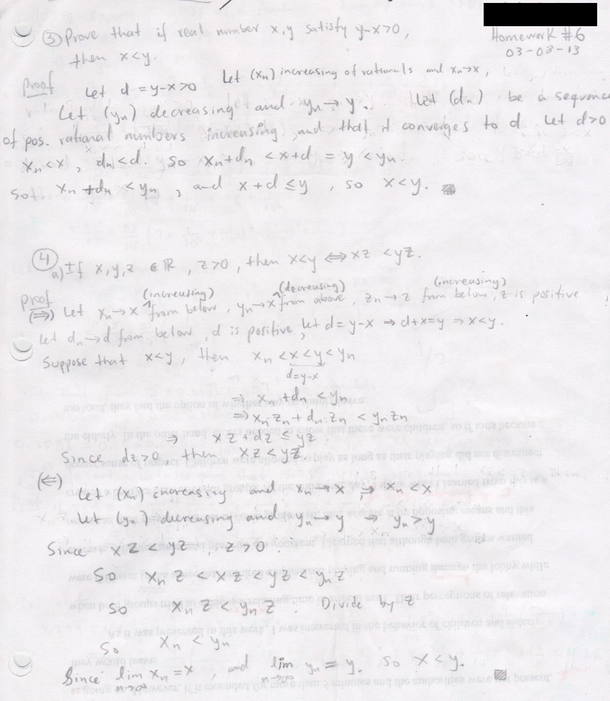 My old math homework from UC Berkeley : Math 153 hw6