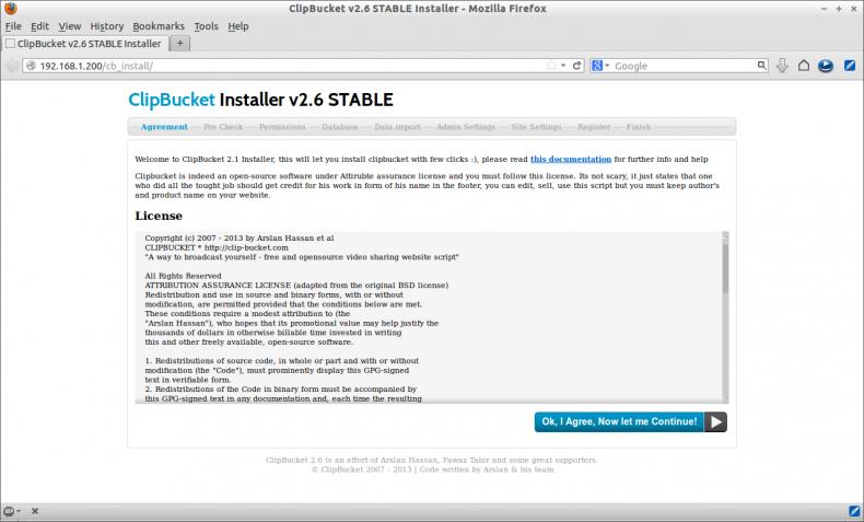 Install ClipBucket on centos 6 | NETWORKSTIP