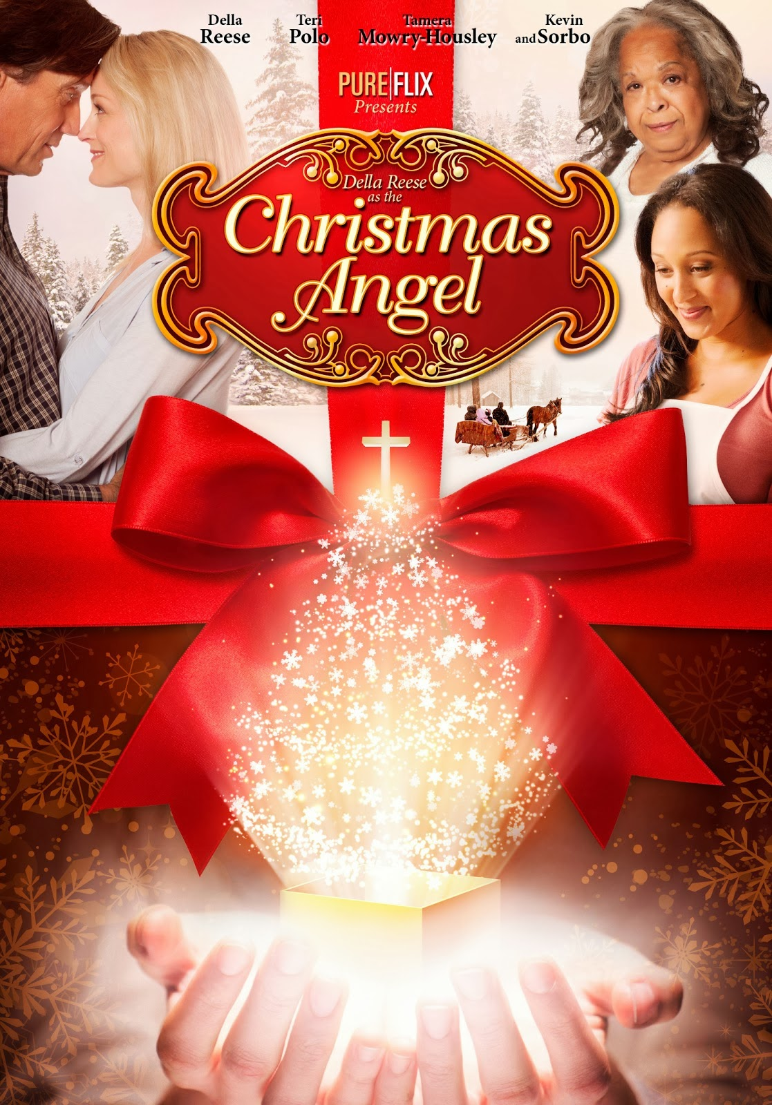 christmas movies angel holiday dvd tv films true schedule door town belle come reese wish start snow