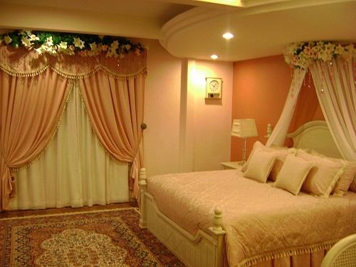 Wedding bed room decoration wedding snaps