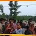 फिर जर्जर तार जोड़ने से ग्रामीणों ने बिजली विभाग को रोका, जेई पर लगाया आरोप