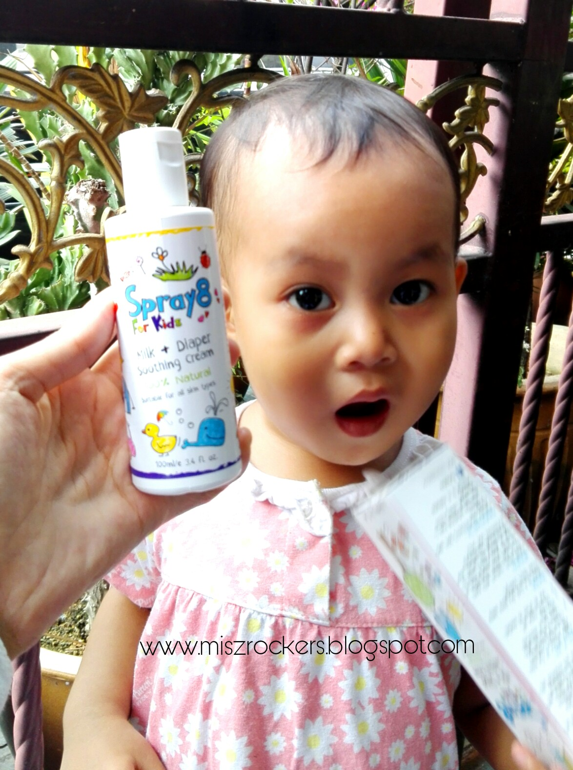 SPRAY 8 MILK DIAPER SOOTHING CREAM