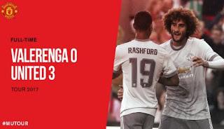 Video Gol Valerenga vs Manchester United 0-3 MU Tour 2017 Norwegia