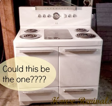 Vintage Electric Stove >> House Revivals Tips For Finding The Perfect Vintage Stove