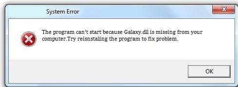 Télécharger Galaxy.dll Fichier Gratuit Installer