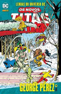 Capa da HQ Lendas do Universo DC: Os Novos Titãs Vol. 4