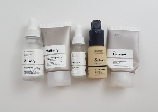 My Five Favourite The Ordinary  Products