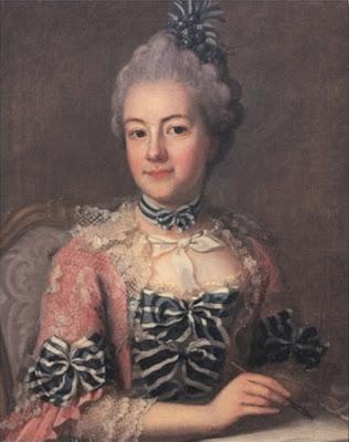 Portrait de Hedvig Nordenflycht, Ulrika Pasch