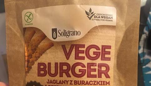 Vege burger, Soligrano