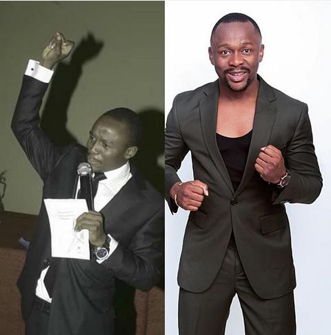 Popular Comedian, Ushbebe, 10 years challenge