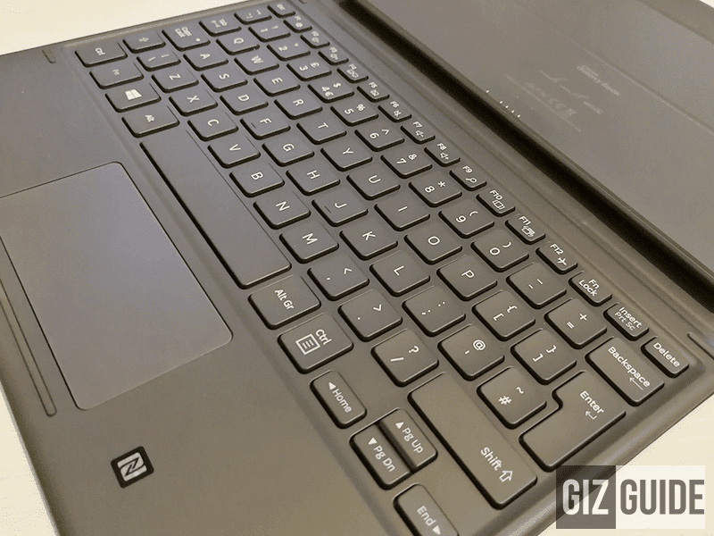A closer look at the Galaxy Book's keyboard