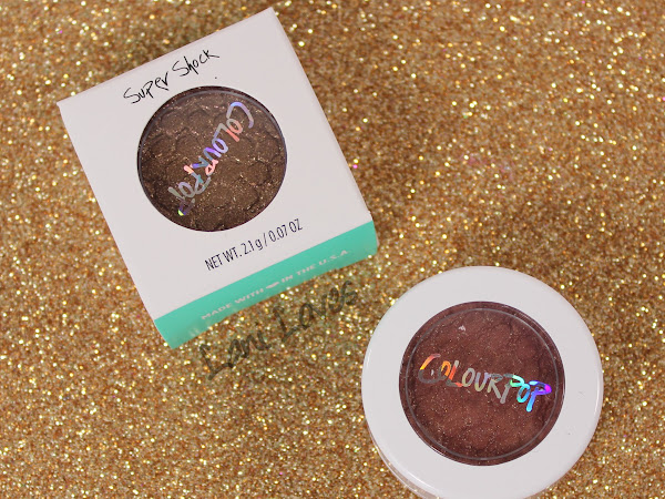 ColourPop SuperShock Shadows - Nillionaire and DGAF Swatches & Review
