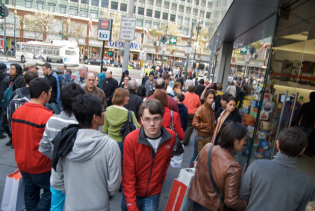 Black Friday in San Francisco, Image by SteveRhodes