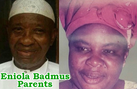 eniola badmus parents