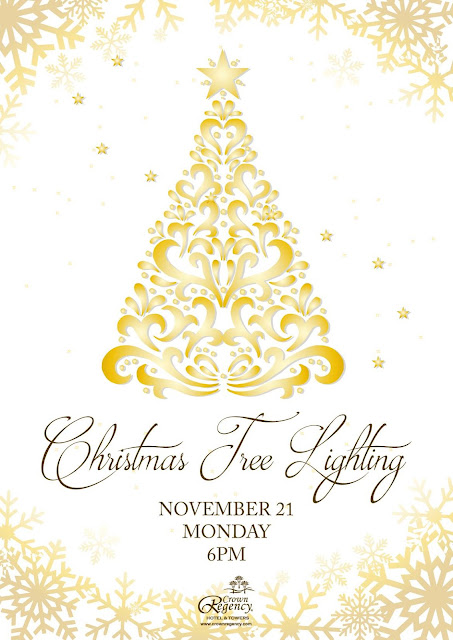 Christmas Tree Lighting Invitation Poster