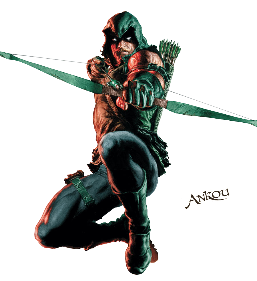 Render Green Arrow