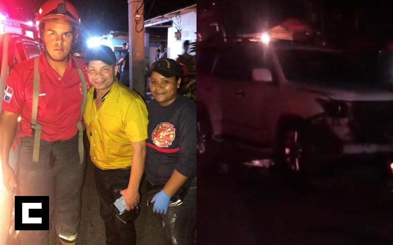 Video: Bachatero Joe Veras sufre accidente de tránsito en Jarabacoa
