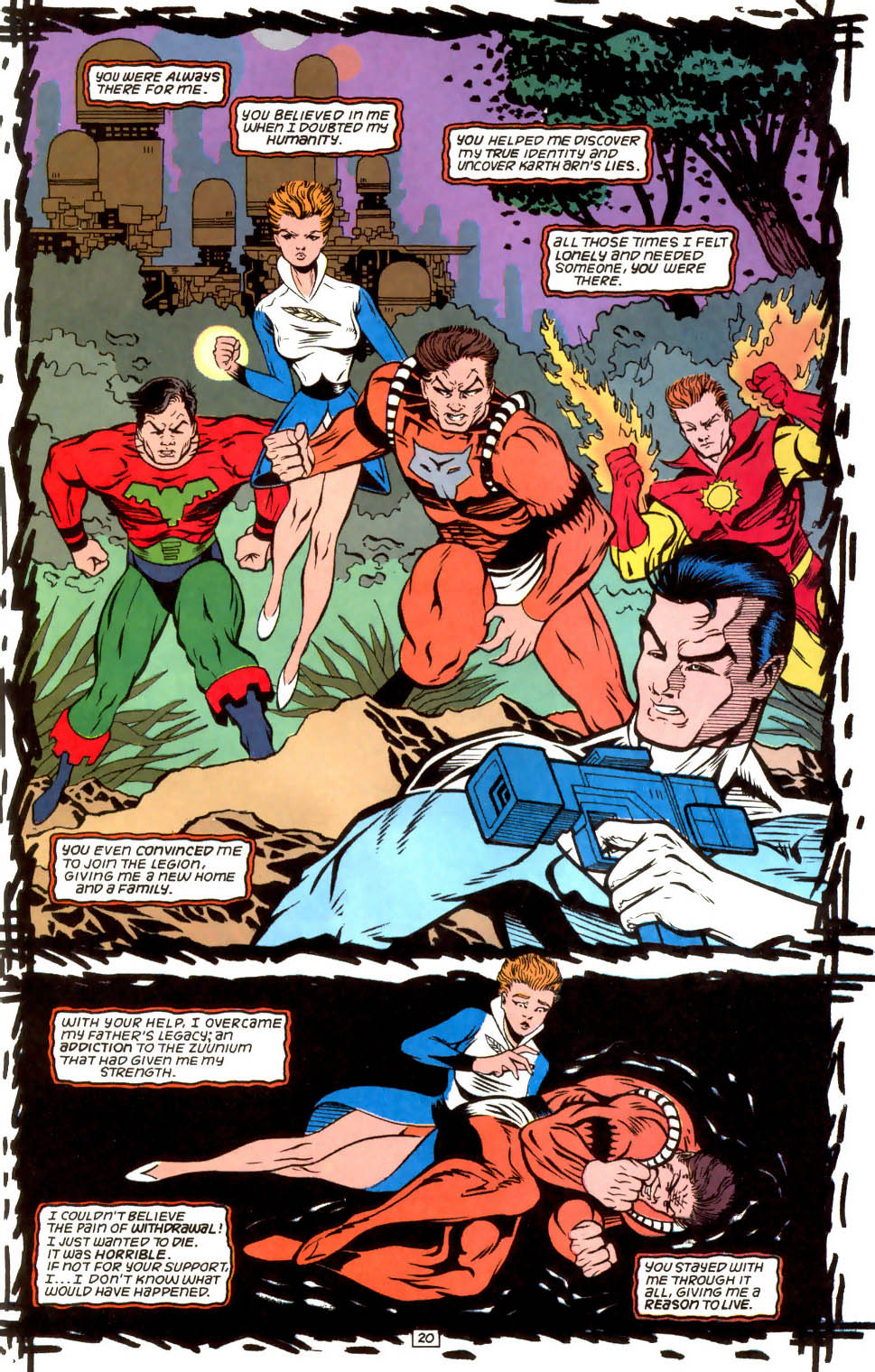 Legion of Super-Heroes (1989) 52 Page 20