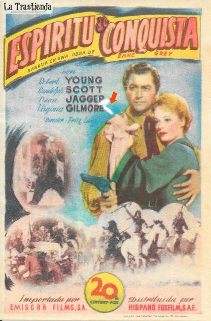 Espíritu de Conquista - Programa de Cine - Robert Young - Randolph Scott