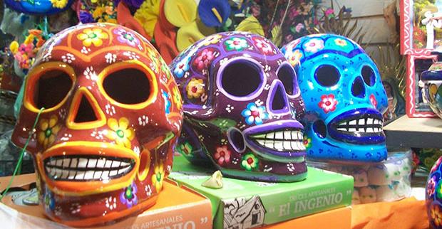 Lojas no Mercado 28 em Cancún
