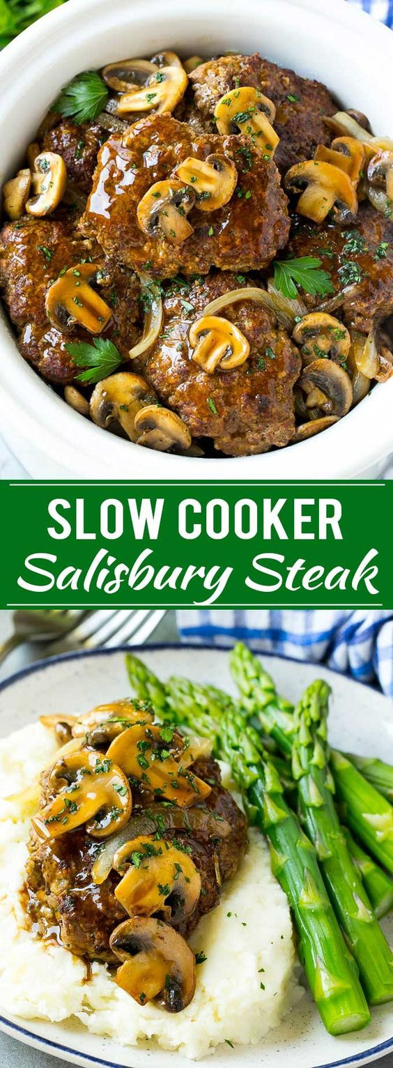 Slow Cooker Salisbury Steak Recipes