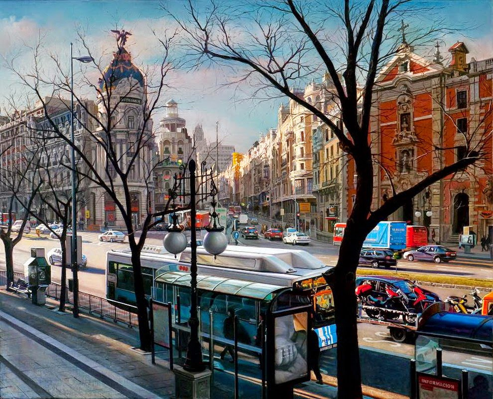 pintura-al-oleo-hiperrealista-paisajes-de-ciudades
