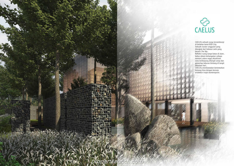 Rumah Cluster Caelus Greenwich Park