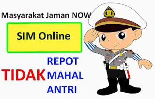 Kepolisian RI tentang SIM Online