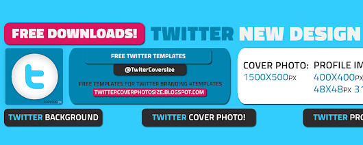 Download a Free Twitter Header Template (2014 layout)! | Twitter Cover Photo Size and Free Templates