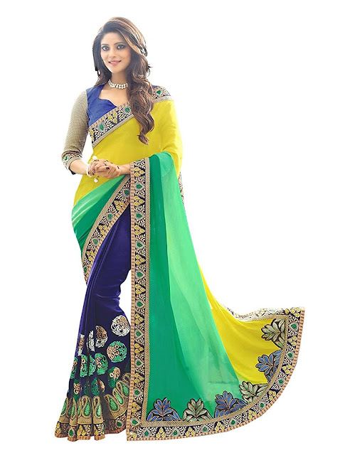 Amazon India Coupons, half sarees online, half sarees below 1000, Design Sarees Online, Buy Sarees, Saree Price, Shop Designer Sarees, Sarees For Wedding, Sarees In Amazon,