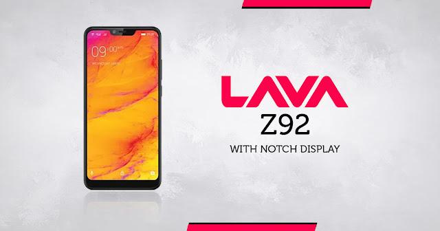 Lava ने लॉन्च किया Lava Z92 स्मार्टफोन, जानिए स्पेसिफिकेशन और कीमत