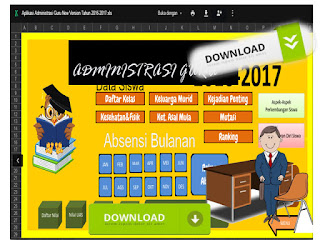 Aplikasi Administrasi Guru New Version Tahun 2016/2017