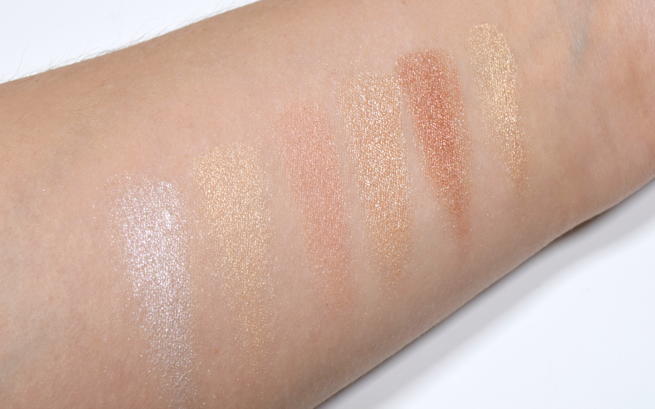 Sleek MakeUP Rockstars Collection Review i-Lust Eyeshadow Palette Diamonds in the Rough Swatches